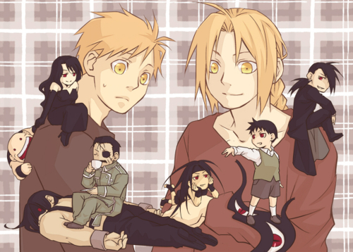 full metal alchemist wallpaper containing anime titled Cute