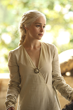 nhân vật nữ trên truyền hình hình nền possibly containing a well dressed person and a business suit entitled Daenerys Targaryen