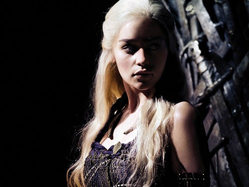 TV Female Characters پیپر وال with a portrait titled Daenerys Targaryen