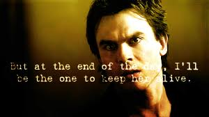 Damon stating the obvious