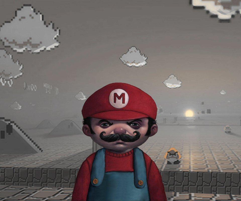 Dark Epic Mario