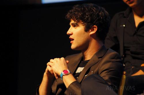 Darren The Glee Project Panel
