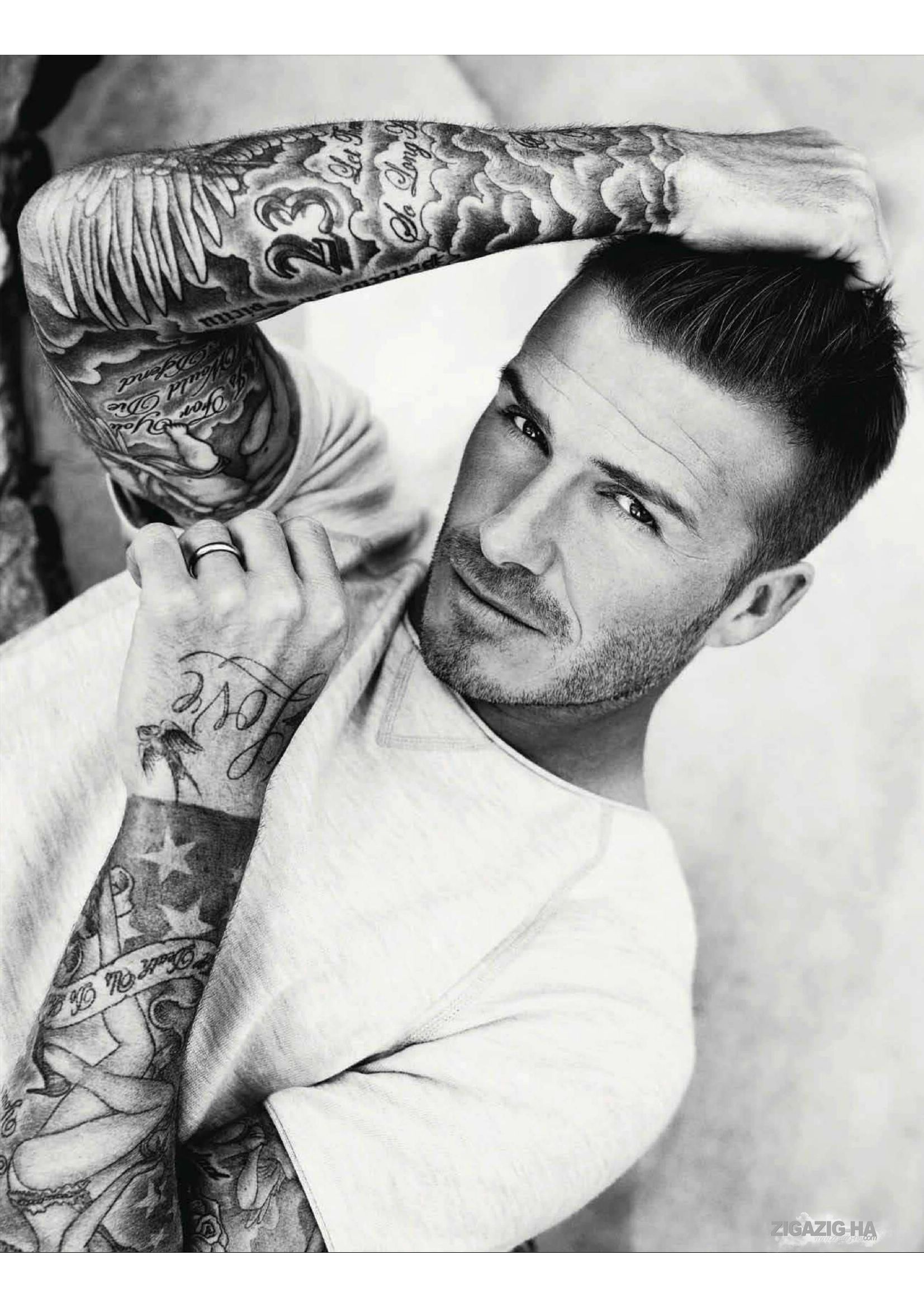 david beckham elle magazine uk   july 2012   david