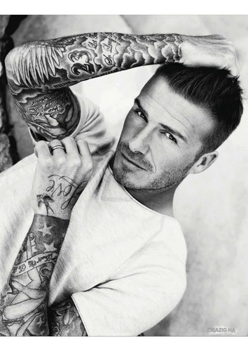 David Beckham: Elle Magazine UK - July 2012  - david-beckham Photo