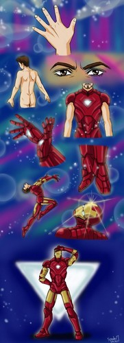Dear Iron girl, Why is te dad in sailor moon?