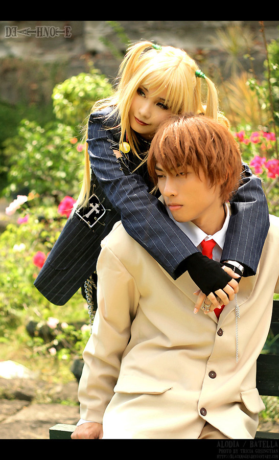Death Note Cosplay Death Note Cosplay And Role Play Foto