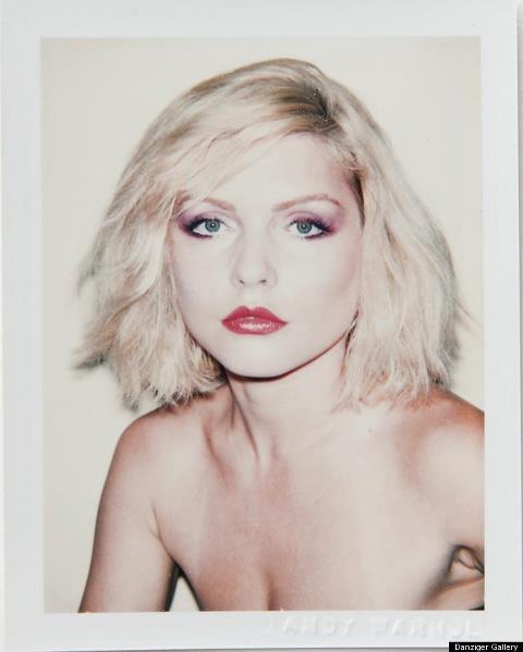 Debbie Harry... Andy Warhol Self Portrait With Skull