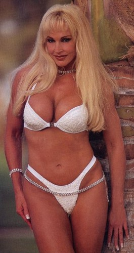 Former WWE Diva... Debra achtergrond probably with a brassiere, attractiveness, and a bikini entitled Debra In Hedonism