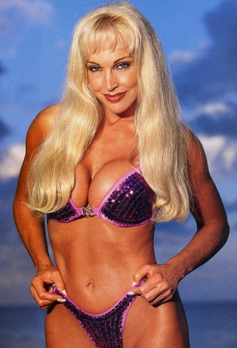 Former WWE Diva... Debra achtergrond containing a bikini called Debra In Hedonism