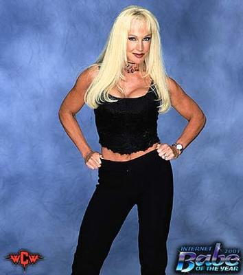 Former WWE Diva... Debra achtergrond containing attractiveness entitled Debra