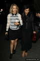 Dianna Agron-Leaving Marks Club with Naya Rivera - dianna-agron photo