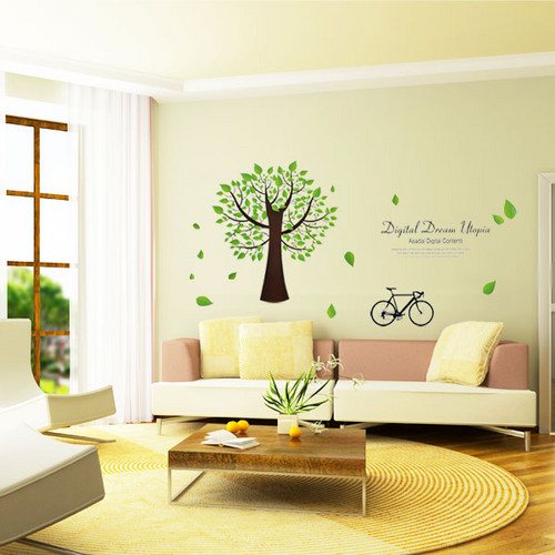 Digital Dream Utopia Tree Wall Sticker