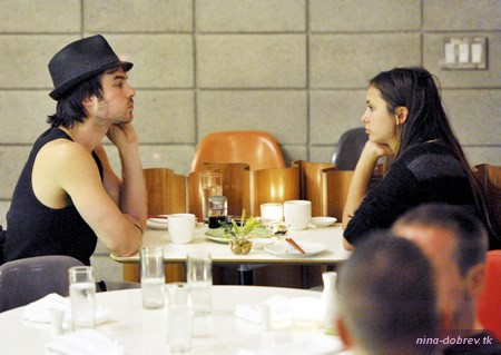 Dinner at Shimba - nina-dobrev Photo