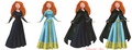 Disney Princess Merida dresses