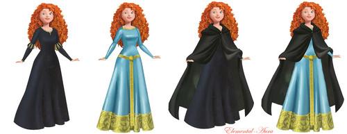 ডিজনি Princess Merida dresses
