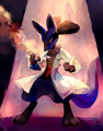 Dr. Lucario - lucario photo