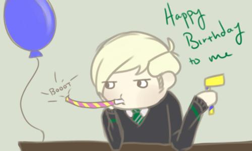 Draco Malfoy's birthday <3