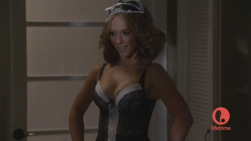 "Dressed as a Sexy French Maid in The Client lista S01 E08 ""Games People Play"