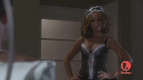 "Dressed as a Sexy French Maid in The Client List S01 E08 ""Games People Play"