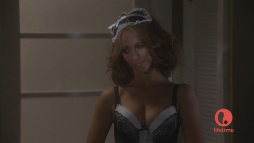 """Dressed as a Sexy French Maid in The Client senarai S01 E08 """"Games People Play"""
