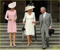 Duchess Kate: Buckingham Palace Garden Tea Party! - kate-middleton photo