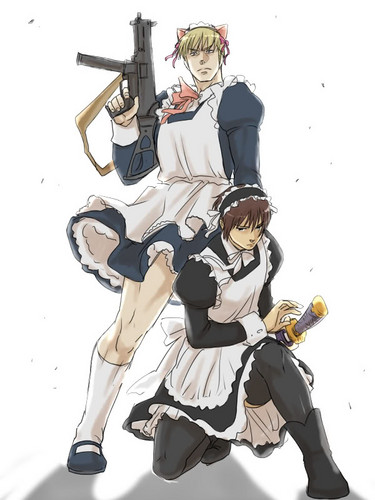 Dudes in Maid Outfits FTW! B3