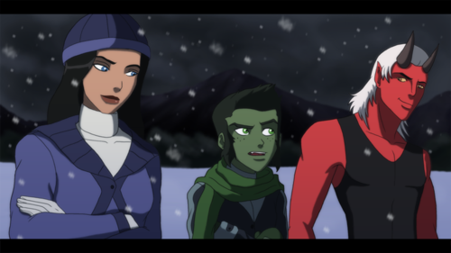 Justicia Joven fondo de pantalla possibly containing anime called guardianwolf216 Fanmade Young Justice scenes