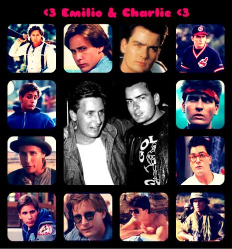 Emilio and Charlie!! :D :D