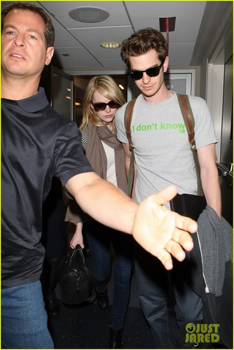 Emma Stone Flies High with Andrew Garfield