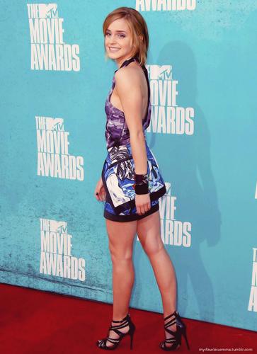 Emma Watson, 音乐电视 Movie Awards 2012