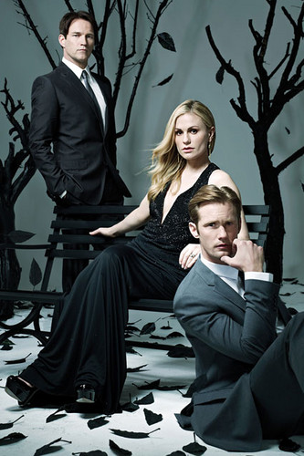 Sookie Stackhouse wallpaper with a business suit, a suit, and a well dressed person titled Emmy Magazine