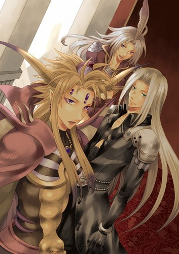 Emperor Mateus, Sephiroth, & Kuja