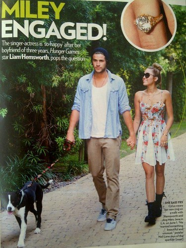 Engagment Article-Miley & Liam