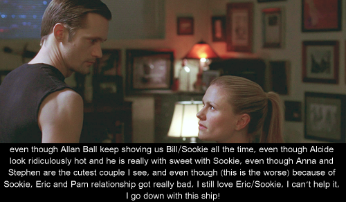 Eric/Sookie's Фаны Confessions