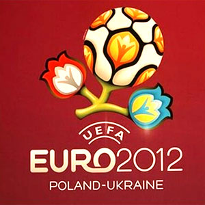 Soccer wallpaper probably with a sign called Euro 2012