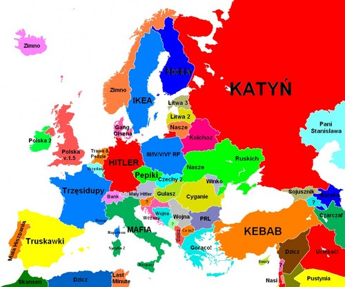 欧洲 according to Poles