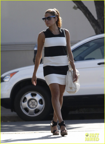 Eva - Walking in Los Angeles, June 01, 2012