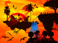 Fantasy Island  - photoshop wallpaper