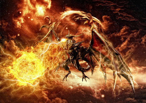 Final Fantasy VIII - Guardian Force - BAHAMUT - final-fantasy-viii Photo