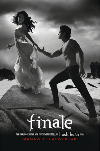Finale book cover - hush-hush Photo