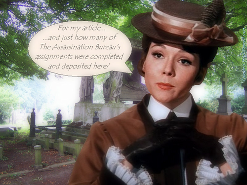 Diana Rigg kertas dinding probably with a boater, a fedora, and a business suit called For my article...