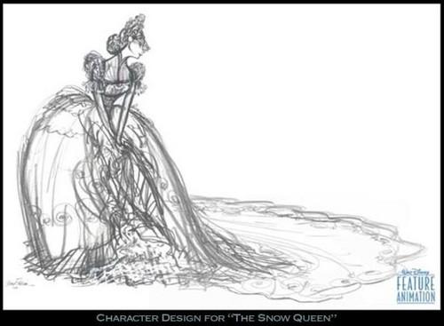 La Reine des Neiges 2013 draws