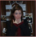 GOERGIE HOLDS A NARNIA ENGLISH LESSON - georgie-henley photo