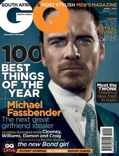 GQ South Africa April 2012 magazine cover