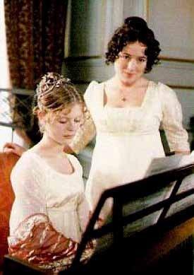 Georgiana Darcy and Lizzy Bennet