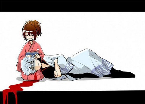 gintama otae and gintoki - photo #23