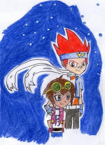 Ginga y Madoka