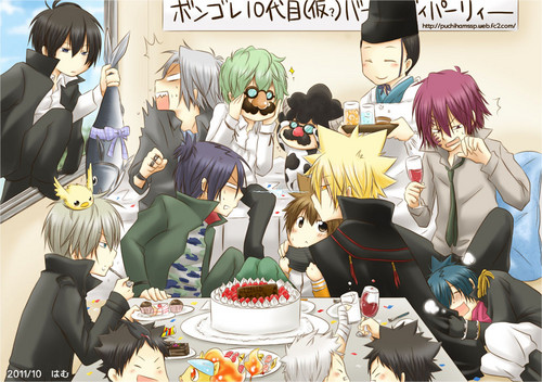 Giotto with Family~