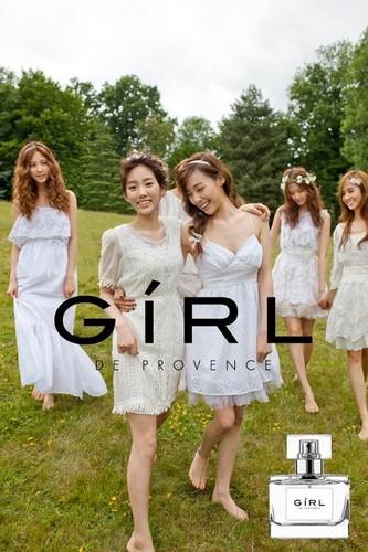 Girl De Provence