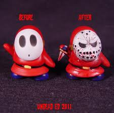 Good and bad shy guy!